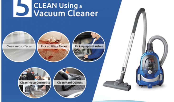 5 Things You Should Never Clean Using A Vacuum Cleaner